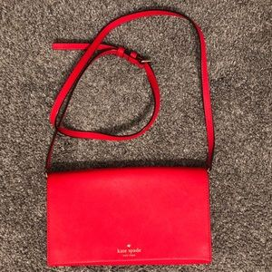 Kate Spade Cedar Street Cali Crossbody in Red